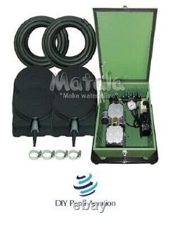 NEW Matala Aeration Kit 2+ Acre 400' Tube 4 Diffuser's+Cabinet MEA Lake Pro 4C