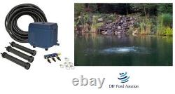 NEW Septic / Pond Complete Aeration Kit for Ponds / Tanks 3-22,500 Gallons LA3