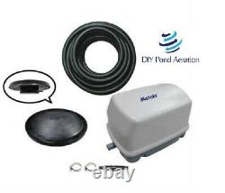 NEW Small pond aeration complete system with30' Sink TUBE/ diffuser Pro 2 PLUS KIT
