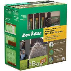 NIB Rain Bird Easy Install In Ground Automatic System 32ETI Sprinkler System Kit