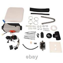 New 5KW 12V Upgrade Diesel Air Heater Kit LCD Thermostat For Truck Boat Car Bus