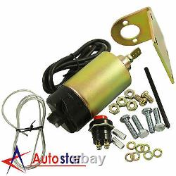 New 85 lb Shaved Handle Door Popper Kit For 4 Door With 2 Remotes Easy Install