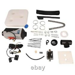 New For Truck Boat Car Bus 5KW 12V Upgrade Diesel Air Heater Kit LCD Thermostat