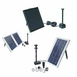 Oase Pontec Pondosolar Fountain Pump Sets Solar Panel Pond Kits Garden Water Koi