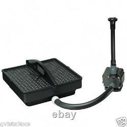 Pondmaster 02213 Pond Filter, Pump Kit withFountain 1350-water garden-submersible