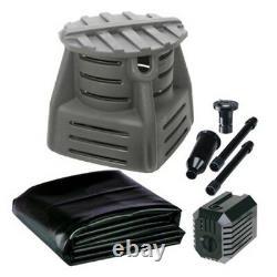 Pondmaster 05113 DIY Water Fountain Display Kit with 260 gph Pump -pondless