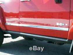QAA fits 06-09 Hummer H3 4p Stainless Body Molding Insert Trim Kit 1.75 HV46304
