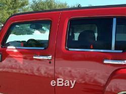 QAA fits 06-09 Hummer H3 4pc Stainless Window Sill Trim Kit HV46310