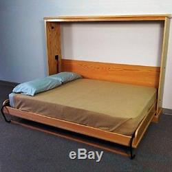 Queen-Size Deluxe Murphy Bed Kit Horizontal Made in USA Easy Install Horizontal
