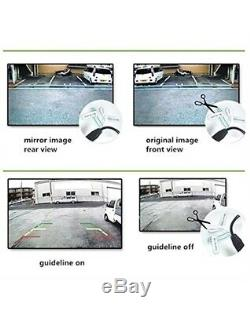 REARMASTER Easy Installation Car Backup Camera Monitor Kit RCA 4.3 inch 12V