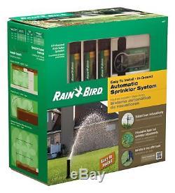 Rain Bird 32ETI Easy to Install In-Ground Automatic Sprinkler System Kit