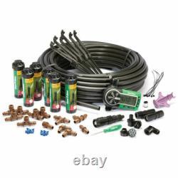 Rain Bird 32eti underground Lawn Sprinkler System Kit Easy Installation rainbird