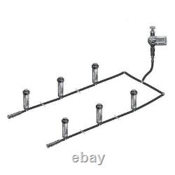 Rain Bird Automatic Sprinkler System Easy to Install In-Ground Complete Kit