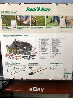 Rain Bird Sprinkler Kit Easy Install In Ground Automatic System Lawn Yard Timer