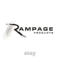 Rampage 5089927 H4 Rectangular Halogen Headlight Conversion Kit for Wrangler