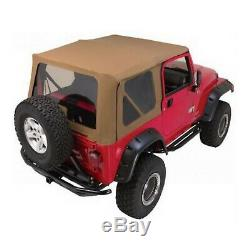 Rampage 68717 Spice Soft Top Kit withFrame for 97-06 Jeep Wrangler TJ