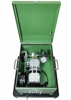Rocking Piston 1/2 HP Pond Aeration Kit with 300' of Tube/3-diffusers/ & Cabinet