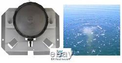 Rocking Piston Sub surface Aeration KIT 3.9cfm PUMP 10 Diffuser+100' Poly Tube