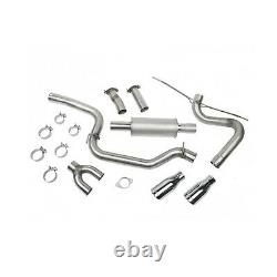 Roush 421610 High Flow 3 Cat-Back Exhaust System Kit for 13-18 Ford Focus ST/NA