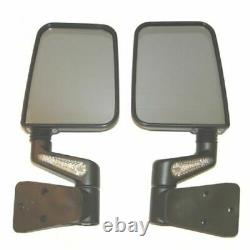 Rugged Ridge 11015.20 Heated Door Mirror Kit with LED Signals for Wrangler TJ/YJ