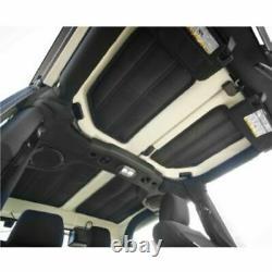 Rugged Ridge 12109.03 Hard Top 4pc Insulation Kit for Jeep Wrangler JK 2-Door