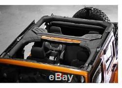 Rugged Ridge 13612.15 Full Roll Bar Cover 2-Piece Kit for 97-02 Jeep Wrangler TJ