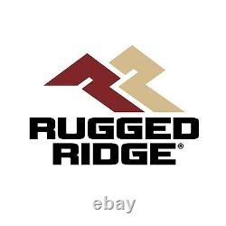 Rugged Ridge 82987.03 Black Floor Liner Kit for Silverado/Sierra 1500/2500/3500