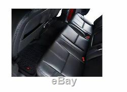 Rugged Ridge 82989.40 Black All Terrain Floor Liners Kit for Ram 1500/2500/3500