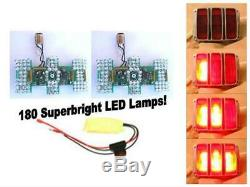Scott Drake 1964-66 Mustang LED Sequential Tail Light Kit (Easy Install)