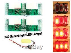 Scott Drake 1969 Mustang LED Sequential Tail Light Kit (Easy Install)