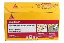 SikaBond Wood Floor Installation Kit For Fast & Easy Fitting Of Wood Flooring