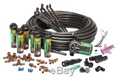 Sprinkler Kit Rain Bird Easy Install In Ground Automatic System Lawn Yard Timer