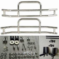 TRUCK CHROME STAINLESS STEEL FRONT BUMPER GRILLE GUARD FIT Volvo VNL 2004-2019