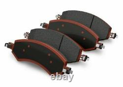 Teraflex Front Big Brake Pads & Clips withRear Slotted Rotor Kit for Wrangler JKU