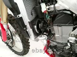 Trail Tech Digital Radiator Fan Cooling Kit For Honda CRF 450 R RX 2017 732-FN13