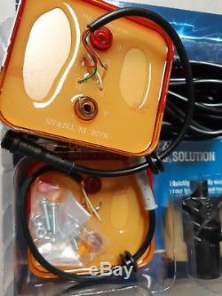 Trailer Wiring & 2 LED Tail Light Kit EASY Tool-Less Installation ADR Approved