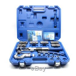 Universal Hydraulic Expander Kit + Pipe Fuel Flaring Tool Steel Easy to Install