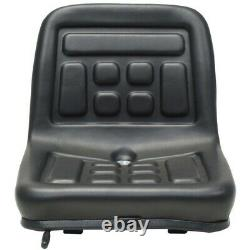 Universal Tractor Seat Cushion Kit With Backrest and Bottom Easy Installation