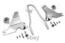 V-Twin 50-0467 Chrome 13 Sissy Bar Easy Install Kit Harley Sportster XL 04-20