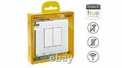 VIMAR 0K03906.04 Plana Friends of Hue Smart Switch Kit, Wireless Light Switch