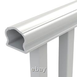 Veranda Deck Railing Kit 8 ft. X 36 in. Easy Install Vinyl White Exterior