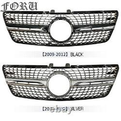 W164 front bumper grill For Benz ML Class ML350 ML550 2009-12 w164 grille cover