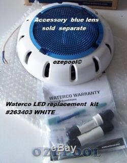 Waterco 263403 LED underwater light, easy install no electrician Replacement kit