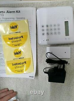 YALE HSA6410 PREMIUM+ HOME ALARM KIT easy installation NEW