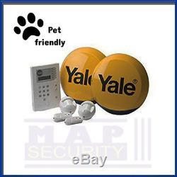 Yale Hsa6400 Pet Friendly Telecommunicating Alarm Kit Easy To Install Diy